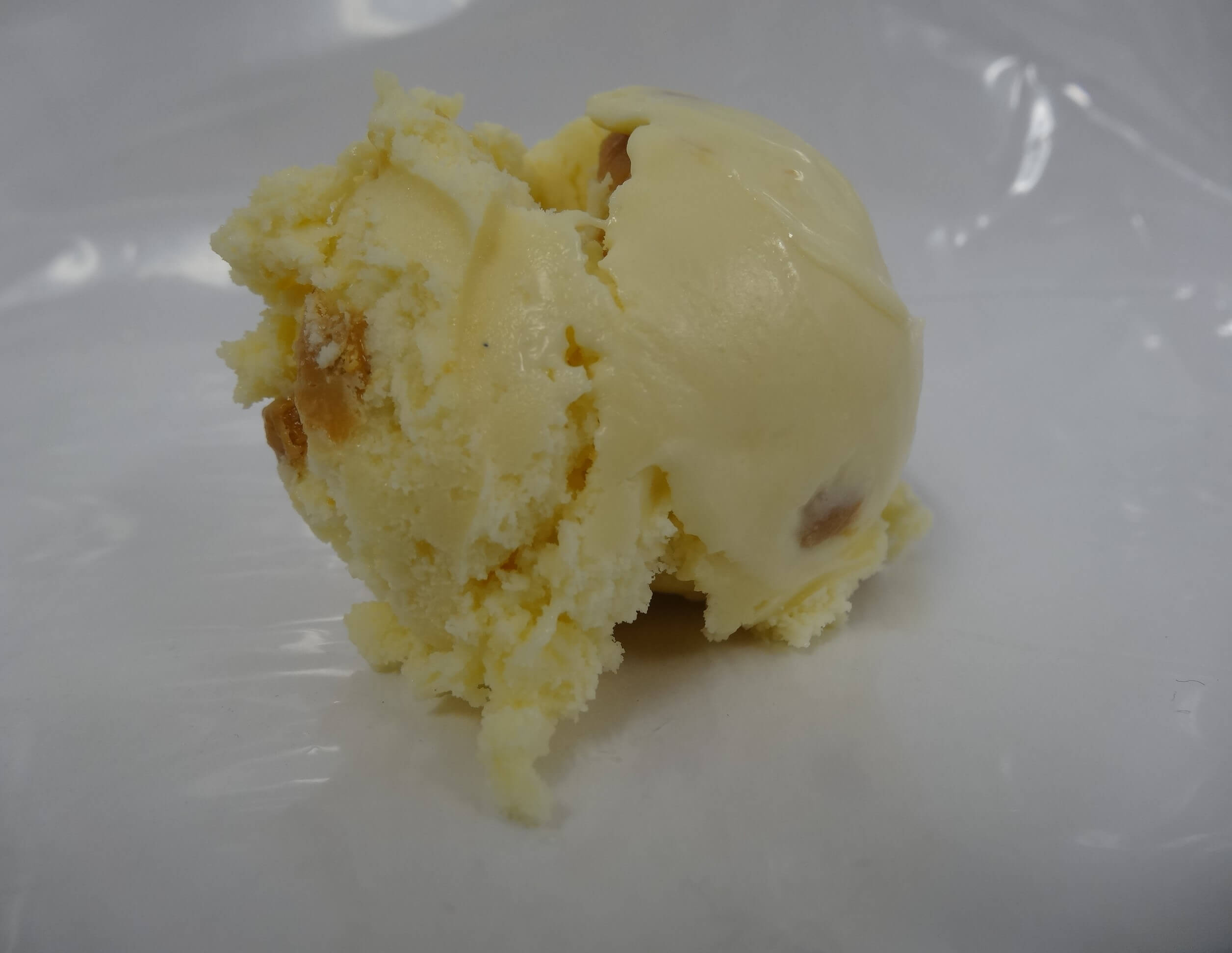 Karamel med karamelstykker